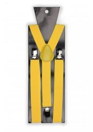 Mens Suspenders in Sunbeam Yellow Packaging