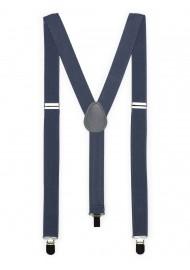 Charcoal Gray Suspenders
