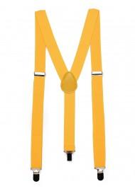 Golden Saffron Mens Suspenders
