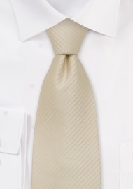 Light Tan Silk Tie for Kids