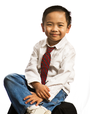Narrow Solid Tie. solid color ties in kids