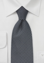 black-silver-patterned-tie