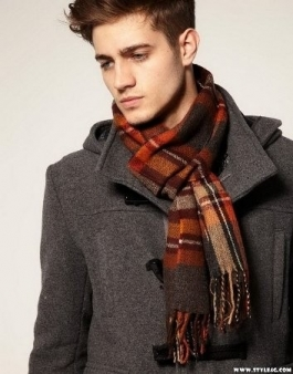 burnt-orange-scarf-mens