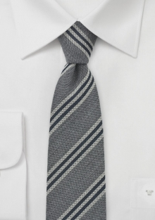 gray-black-wool-necktie