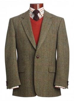 Ties For Vintage Tweed Sports Coats