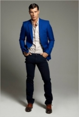 Stylish Winter Colors for Men in 2013: Indigo