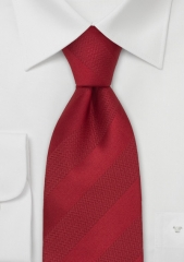 bright-red-silk-tie