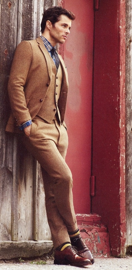 sandy-brown-3-piece-suit