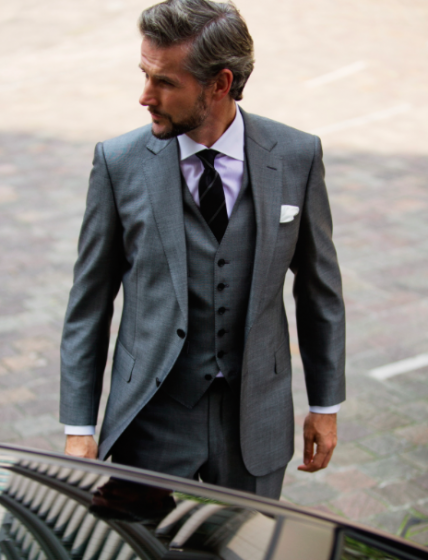 stylish-stone-gray-three-piece-suit