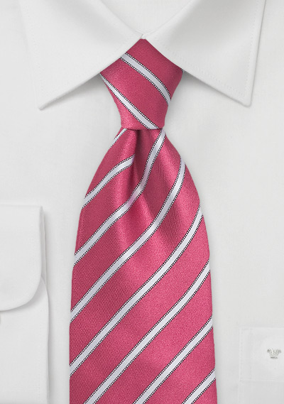 pink-white-striped-tie