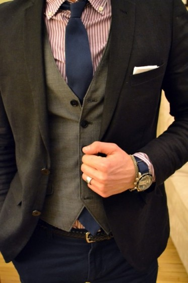 Pocket Square Business Casual