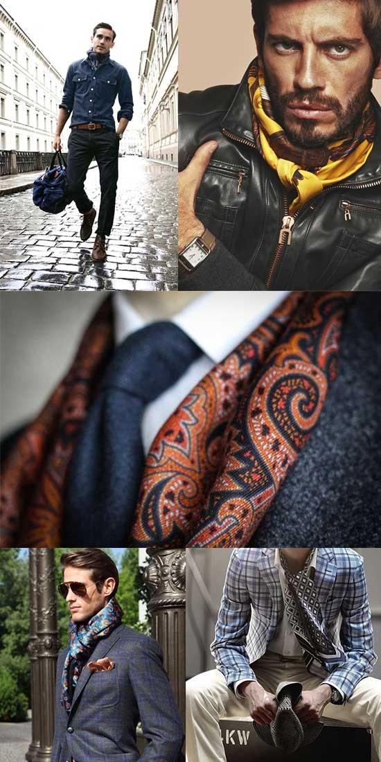 Mens_Silk Scarves