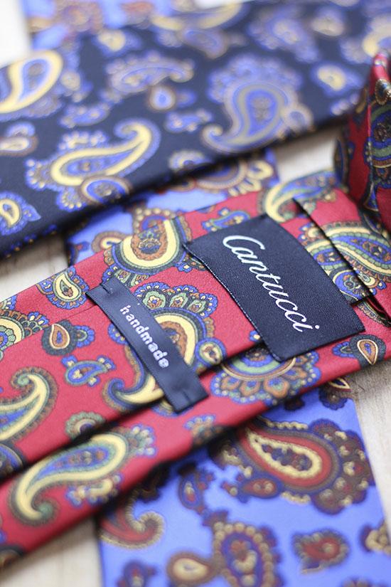 Details of Paisley Ties