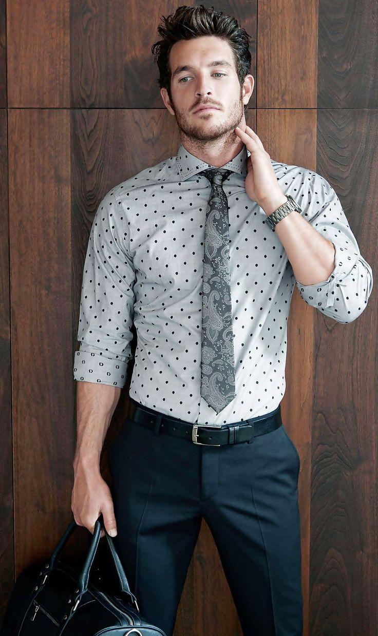 Polka Dot Shirt for Men