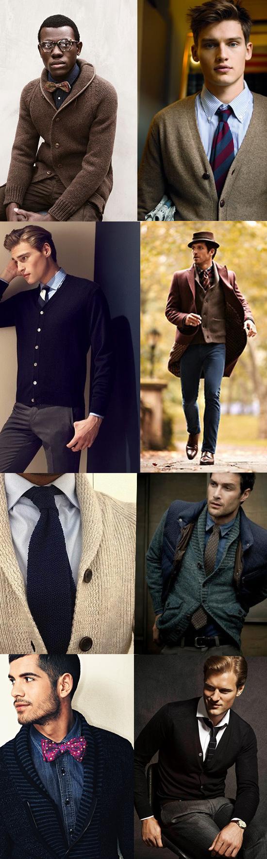 Menswear Cardigans
