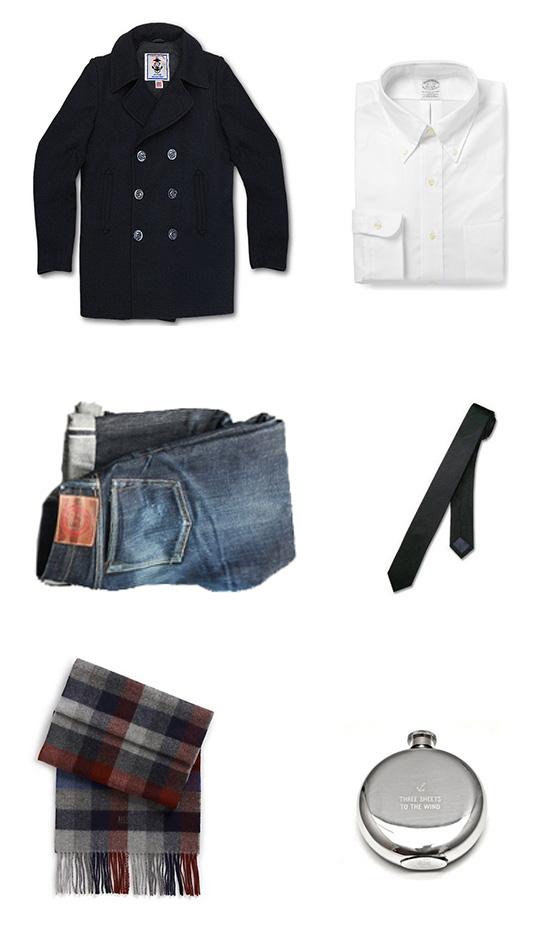 Peacoat Style Menswear