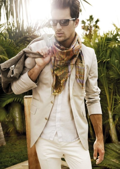 Silk Scarf Fashion For Men