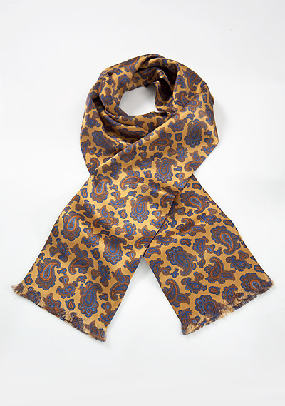 Paisley Scarf in Yellow