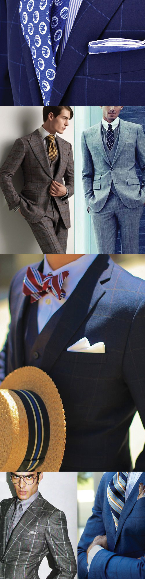 The Classic Window Pane Pattern in Menswear