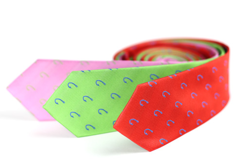 Designer Fish Hook Neckties