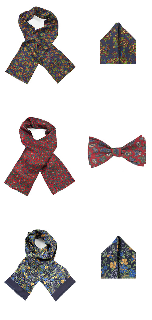 Designer Silk Scarves For Men