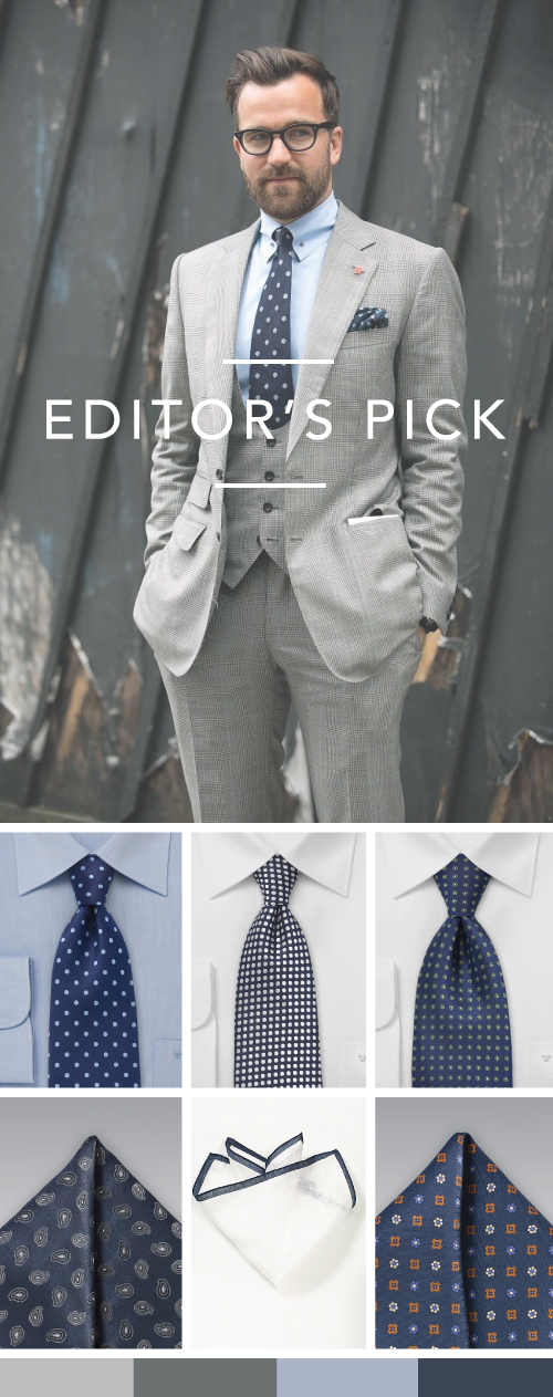 Best Accessories For Glen Check Suits