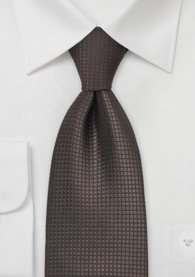 Fall Season Brown Tie