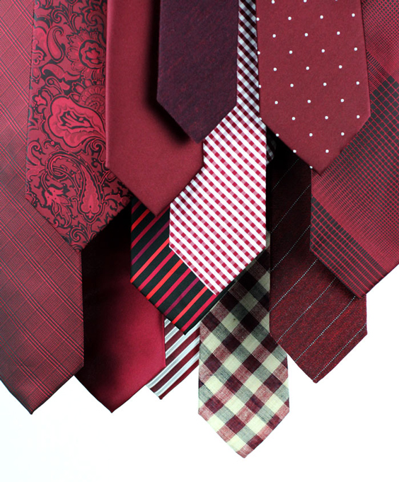 Marsala Ties + Neckties