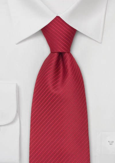 Designer Striped Necktie