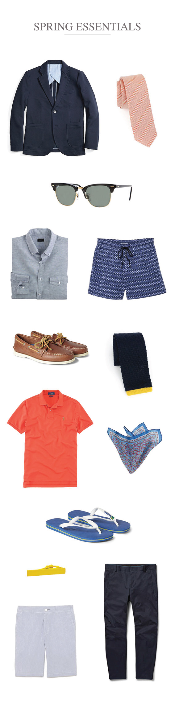 Must Have Spring Pieces for Men