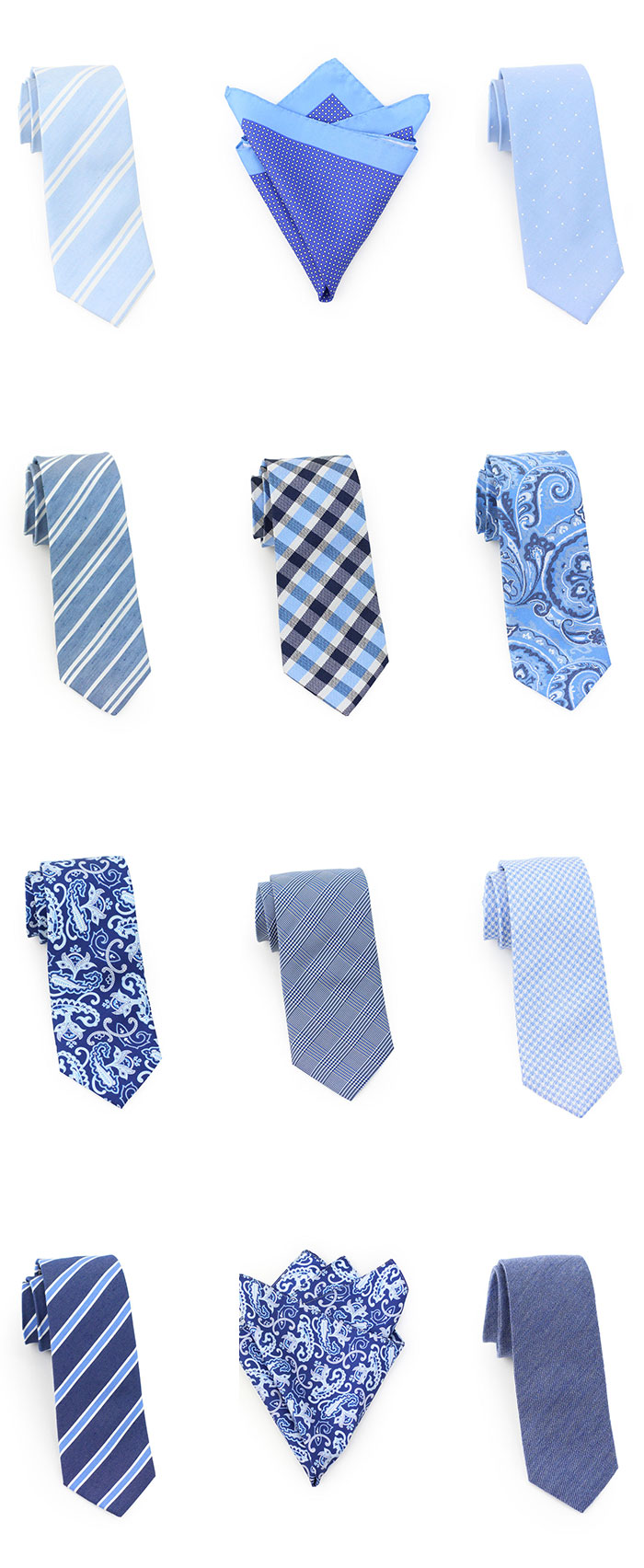 Best Trendy Blue Neckties