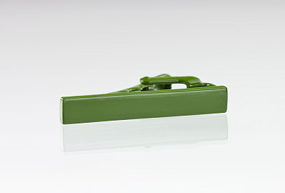 Designer Green Tie Bar
