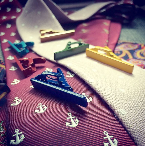 Designer Tie Bar Colors