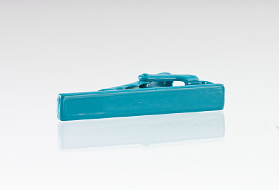Matte Turquoise Tie Bar