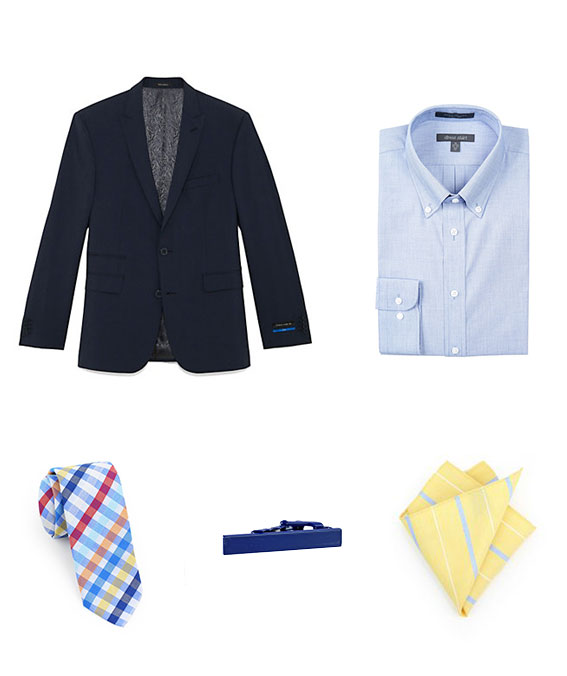 The Right Tie For Chambray