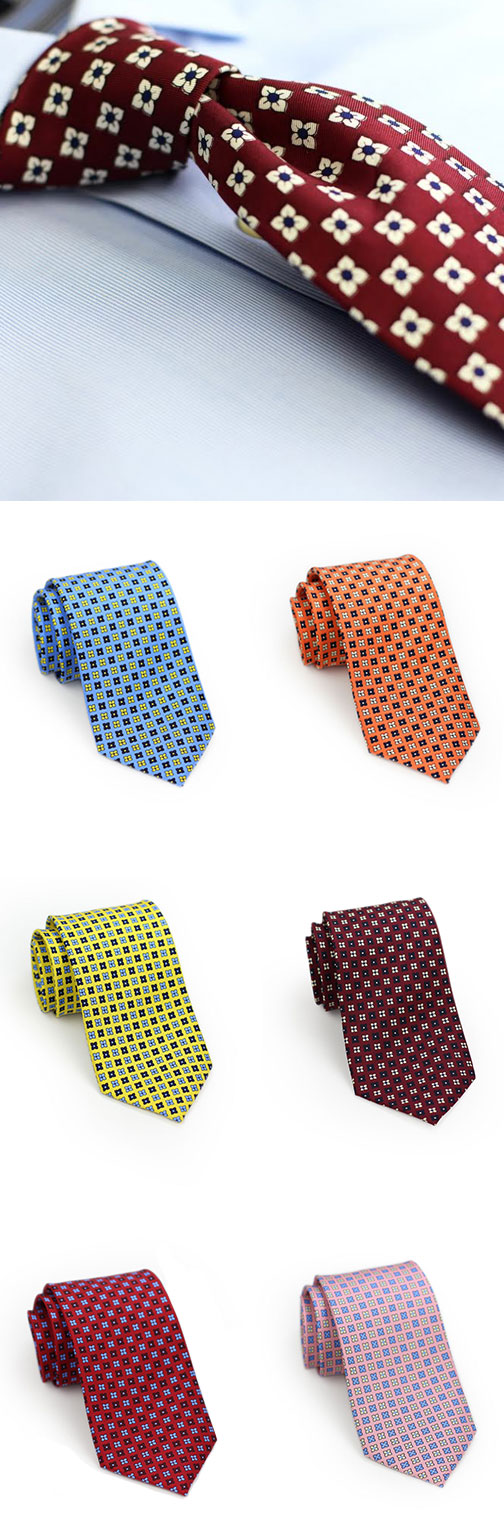 Colorful Foulard Ties
