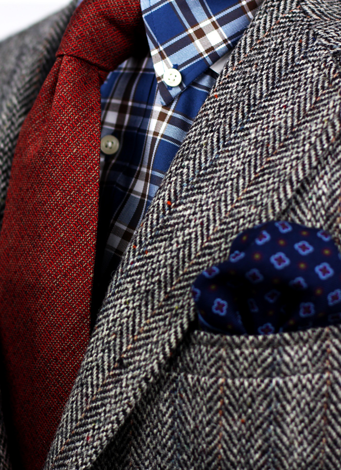 Pocket Square for Winter Accessorizing