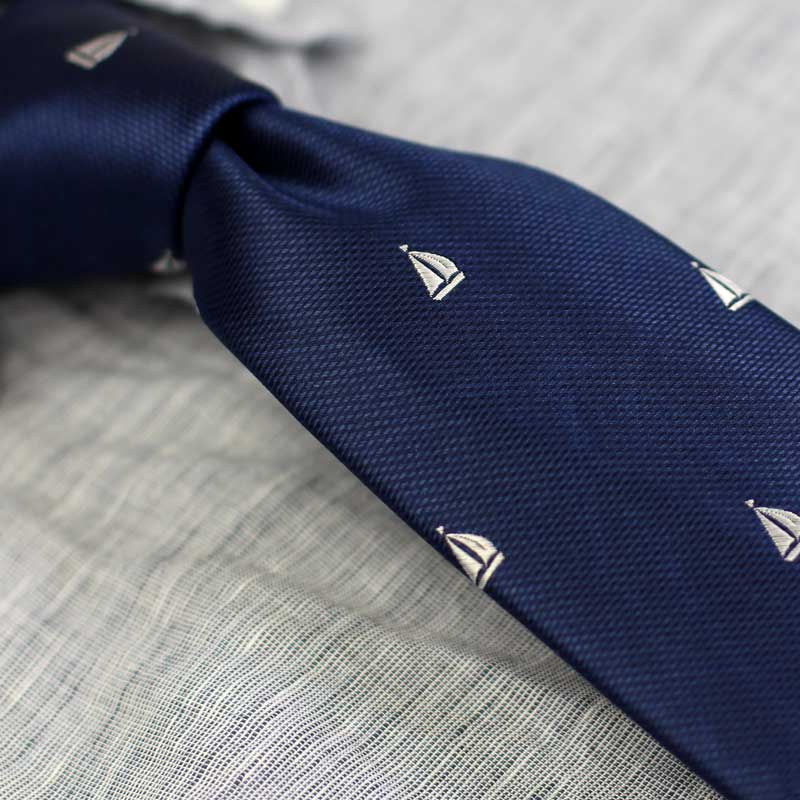 Nautical Print Tie Collection