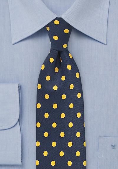 Summer Polka Dot Tie