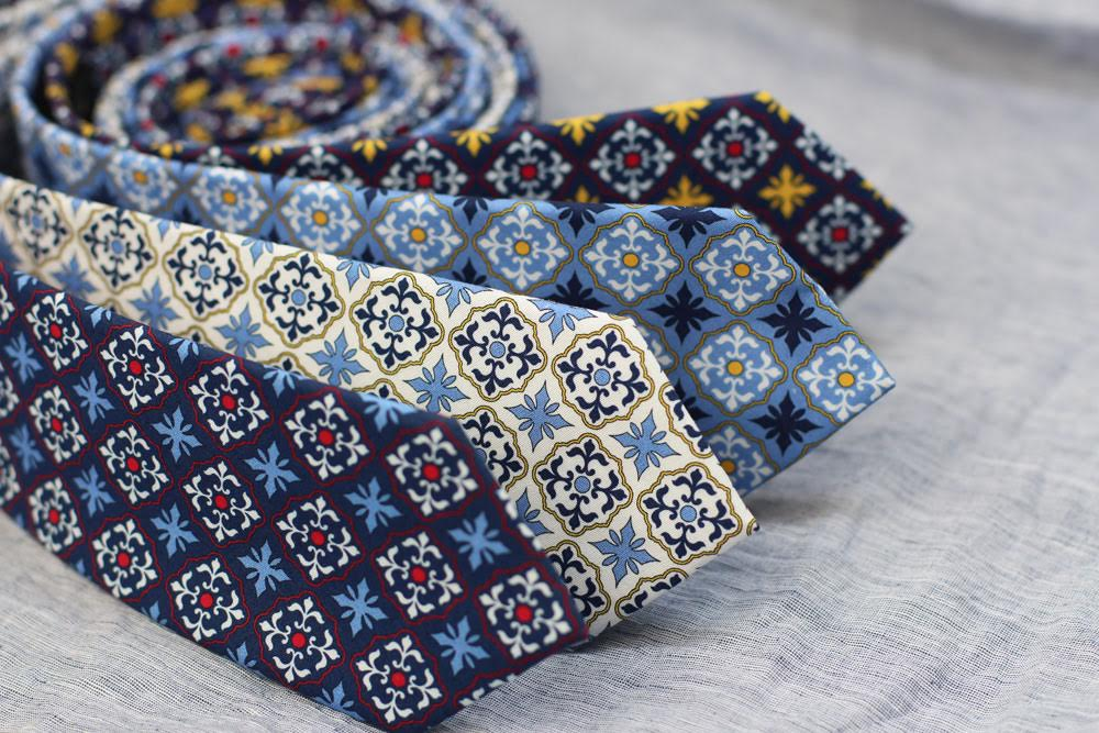 Spanish Inspired Neckties