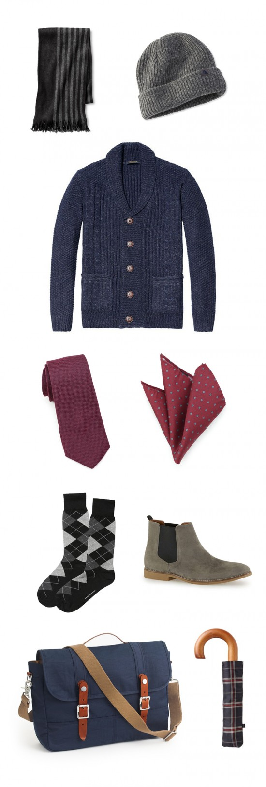 Menswear Accessories Perfect for Fall