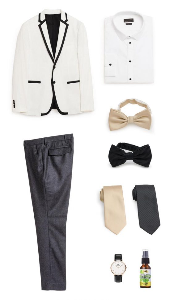 Menswear Basics for New Years Eve