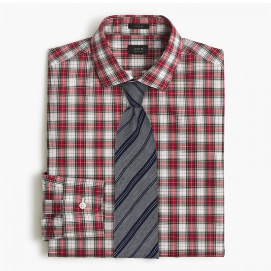 6 Neckties To Wear with Red Tartan