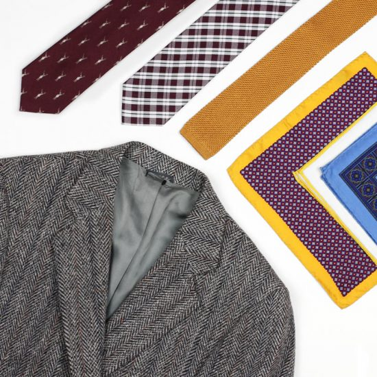 Best Neckties + Pocket Squares To Pair With Wool