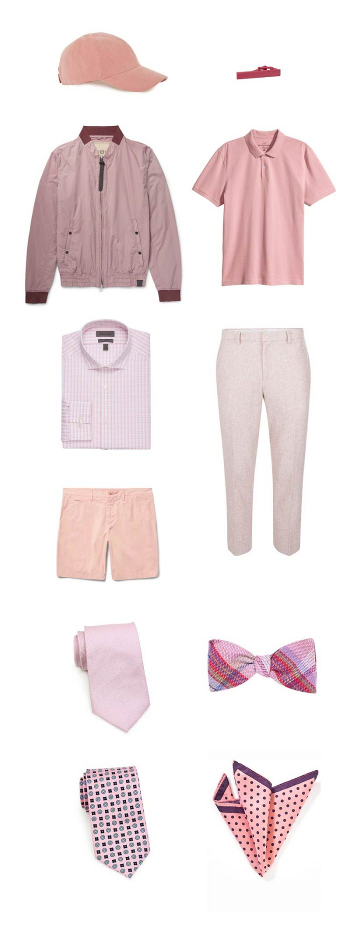 Must Have Pink Menswear Items + Accessories