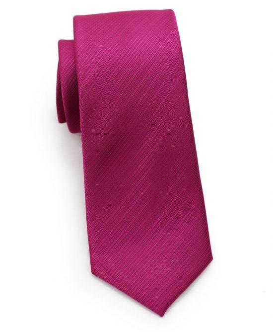 Raspberry Red Skinny Tie