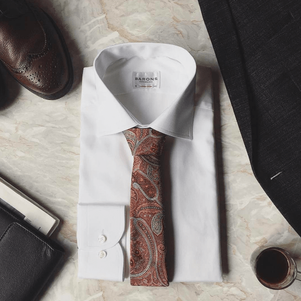 What To Wear With A Paisley Necktie