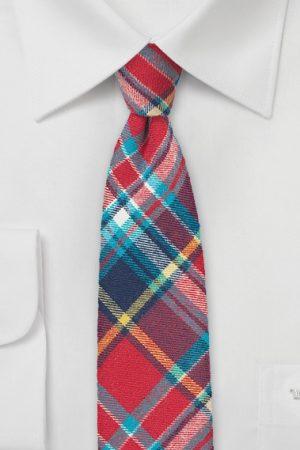 Flannel Neckties for Winter
