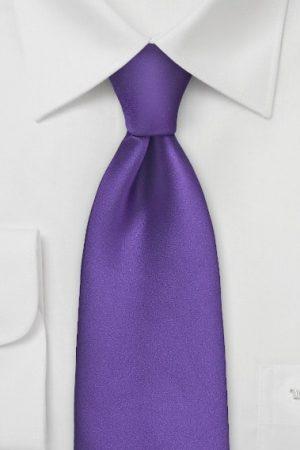Solid Purple Necktie