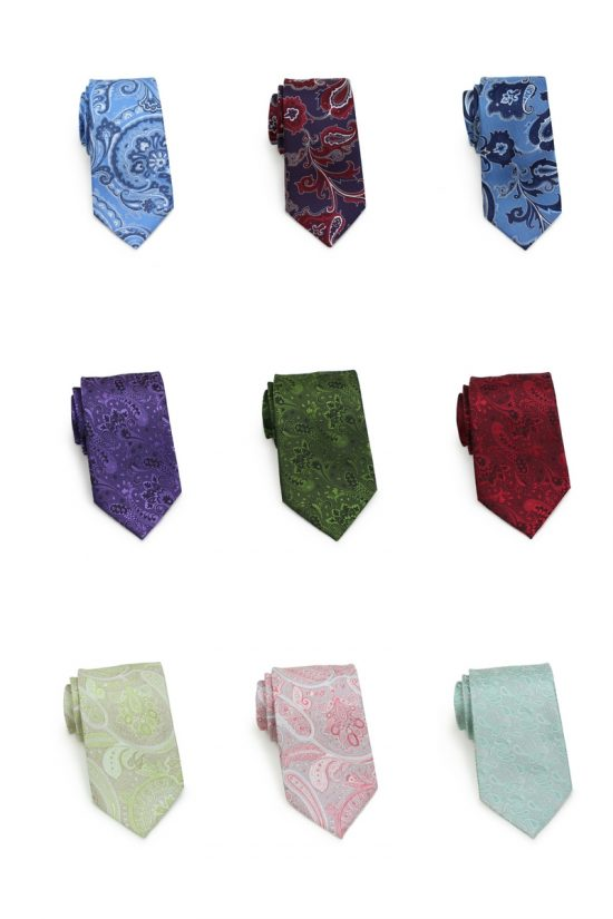 Paisley Ties for 2018